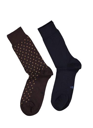 Abdullah Kiğılı 2'li Çorap Lacivert